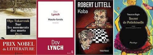 Les livres précédemment sélectionnés