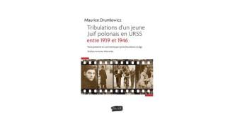 """Signature du livre """"Tribulations d'un jeune Juif polonais en URSS entre 1939 et 1946"""" le 10/11/2021 à 19h00 à la librairie L'Ecailler."""