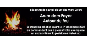 """""""Arum dem fayer"""" - deuxième album des Marx Sisters"""